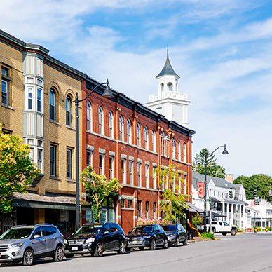 Downtown Hamilton NY
